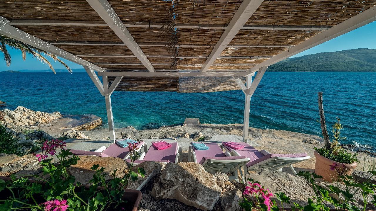 Ferienhaus Luxuriöse Strandvilla Marija in der Nähe von Trogir (2790031), Seget Vranjica, , Dalmatien, Kroatien, Bild 2