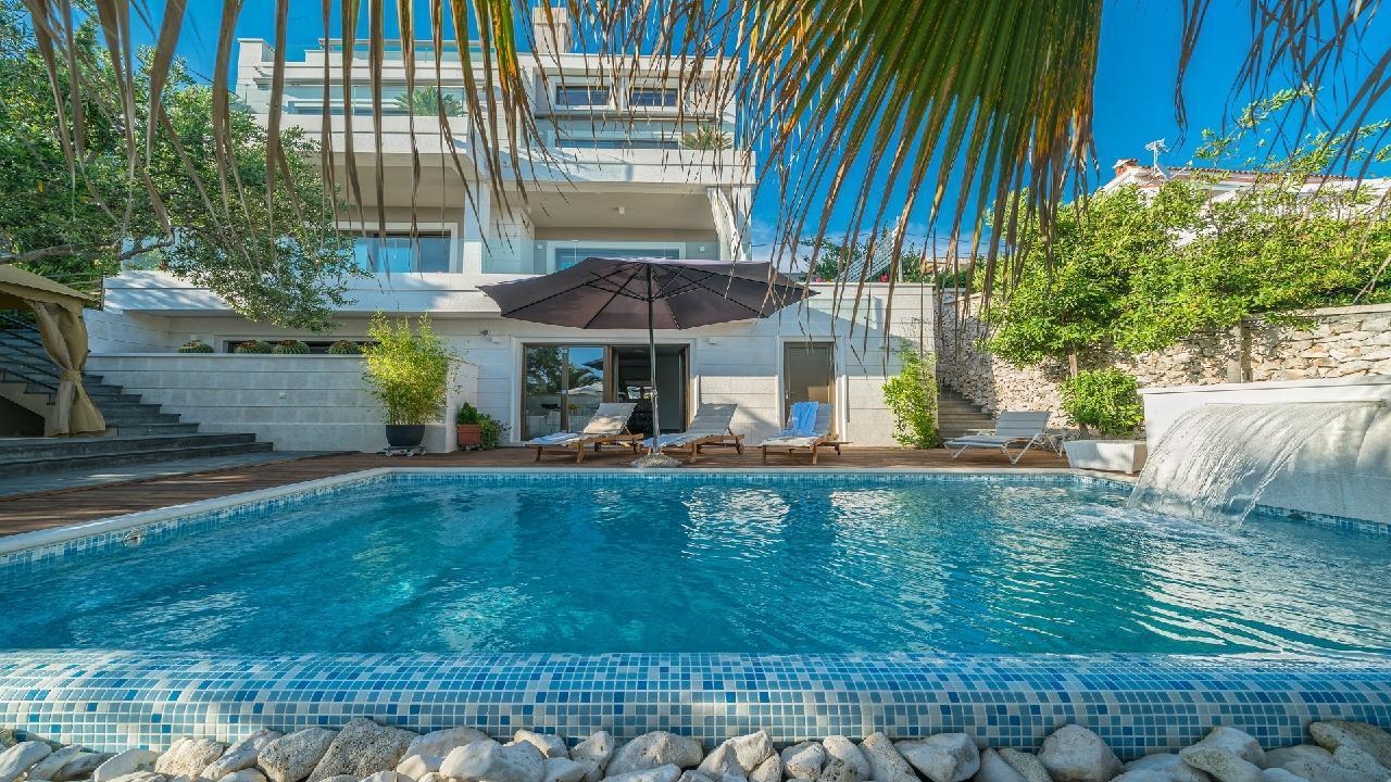 Ferienhaus Luxuriöse Strandvilla Marija in der Nähe von Trogir (2790031), Seget Vranjica, , Dalmatien, Kroatien, Bild 28
