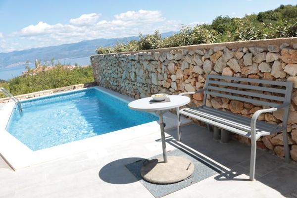 Maison de vacances Villa Paradise mit Pool und teilweise Meerblick (2819866), Vrbnik, Île de Krk, Kvarner, Croatie, image 11