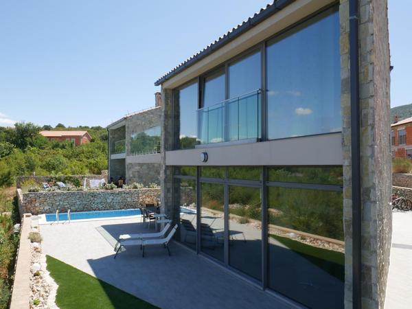 Maison de vacances Villa Paradise mit Pool und teilweise Meerblick (2819866), Vrbnik, Île de Krk, Kvarner, Croatie, image 2