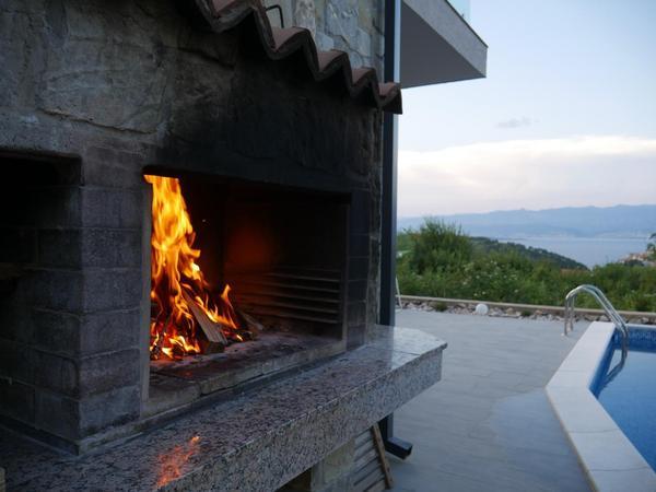 Maison de vacances Villa Paradise mit Pool und teilweise Meerblick (2819866), Vrbnik, Île de Krk, Kvarner, Croatie, image 13