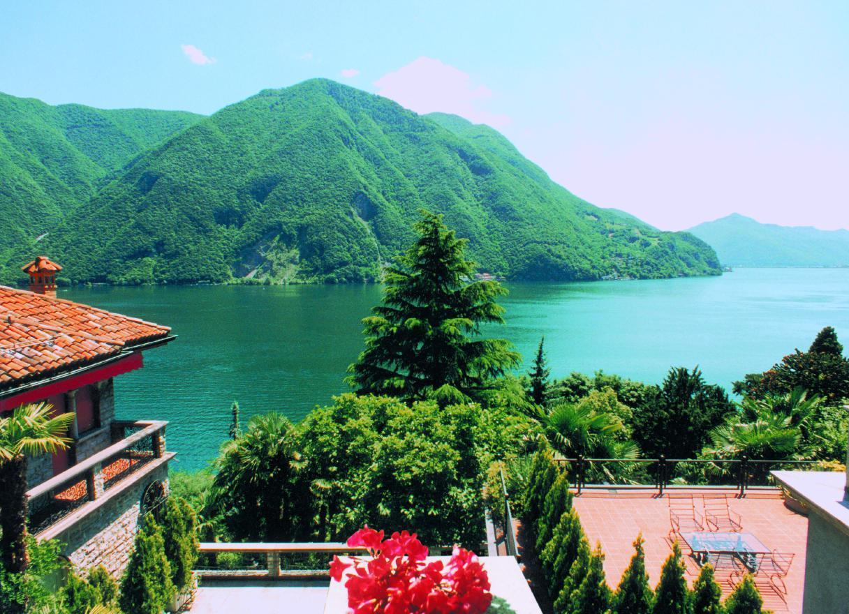Ferienhaus Barony Luxus-Villa Castagnola-Seenähe, Park, Klimaanlage, Hallenbad (304907), Castagnola, Lago di Lugano (CH), Tessin, Schweiz, Bild 23