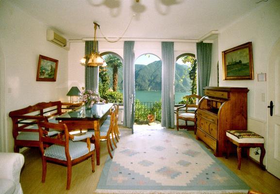 Ferienhaus Villa in Castagnola-Seenähe, Park, Klimaanlage, Schwimmbad (304907), Castagnola, Lago di Lugano (CH), Tessin, Schweiz, Bild 3