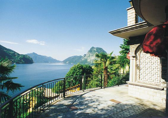 Ferienhaus Villa in Castagnola-Seenähe, Park, Klimaanlage, Schwimmbad (304907), Castagnola, Lago di Lugano (CH), Tessin, Schweiz, Bild 12