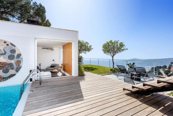 Holiday house Panorama Villa mit zwei Swimming Pools über der Cote d'Azur (321698), Villefranche sur Mer, Côte d'Azur, Provence - Alps - Côte d'Azur, France, picture 6