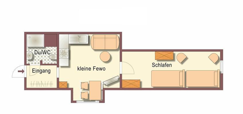 Ferienwohnung Kleine Ferienwohung im Fachwerkh. (332620), Wittenburg, Mecklenburg-Schwerin, Mecklenburg-Vorpommern, Deutschland, Bild 7