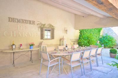 Holiday house St Roch Farmhaus: wunderschön renoviertes Landhaus aus dem 18. Jahrhundert im Herzen der P (335528), Robion, Vaucluse, Provence - Alps - Côte d'Azur, France, picture 12