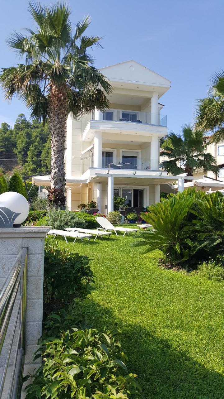 Ferienwohnung Sun Residence - Exklusive Luxusvilla in Bestlage, direkt am Strand  von Polichrono-Kassand (341146), Polichrono, Chalkidiki, Makedonien, Griechenland, Bild 41