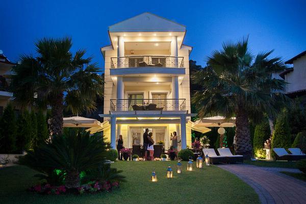 Appartement de vacances Sun Residence - Exklusive Luxusvilla in Bestlage, direkt am Strand  von Polichrono-Kassand (341146), Polichrono, Chalcidique, Macédoine, Grèce, image 1