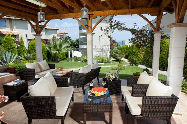 Holiday apartment Sun Residence - Exklusive Luxusvilla in Bestlage, direkt am Strand  von Polichrono-Kassand (341146), Polichrono, Chalkidiki, Macedonia, Greece, picture 12