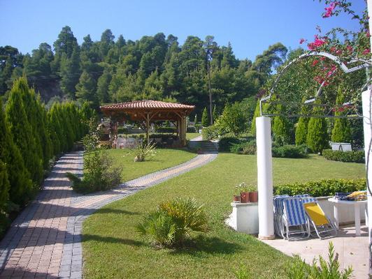 Ferienwohnung Sun Residence - Exklusive Luxusvilla in Bestlage, direkt am Strand  von Polichrono-Kassand (341146), Polichrono, Chalkidiki, Makedonien, Griechenland, Bild 6