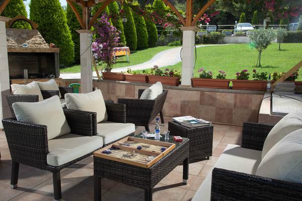 Appartement de vacances Sun Residence - Exklusive Luxusvilla in Bestlage, direkt am Strand  von Polichrono-Kassand (341146), Polichrono, Chalcidique, Macédoine, Grèce, image 15