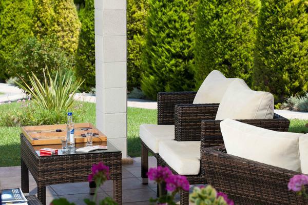 Holiday house 'Sun Residence' Luxusdomizil mit exlusiven Apartments in Polichrono/Chalkidiki Ruhe+Erholu (341850), Polichrono, Chalkidiki, Macedonia, Greece, picture 13