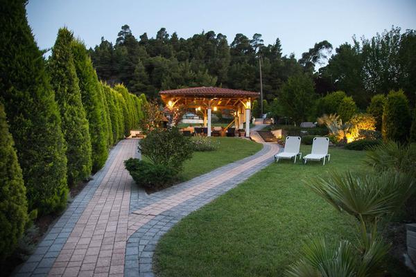 Holiday house 'Sun Residence' Luxusdomizil mit exlusiven Apartments in Polichrono/Chalkidiki Ruhe+Erholu (341850), Polichrono, Chalkidiki, Macedonia, Greece, picture 29