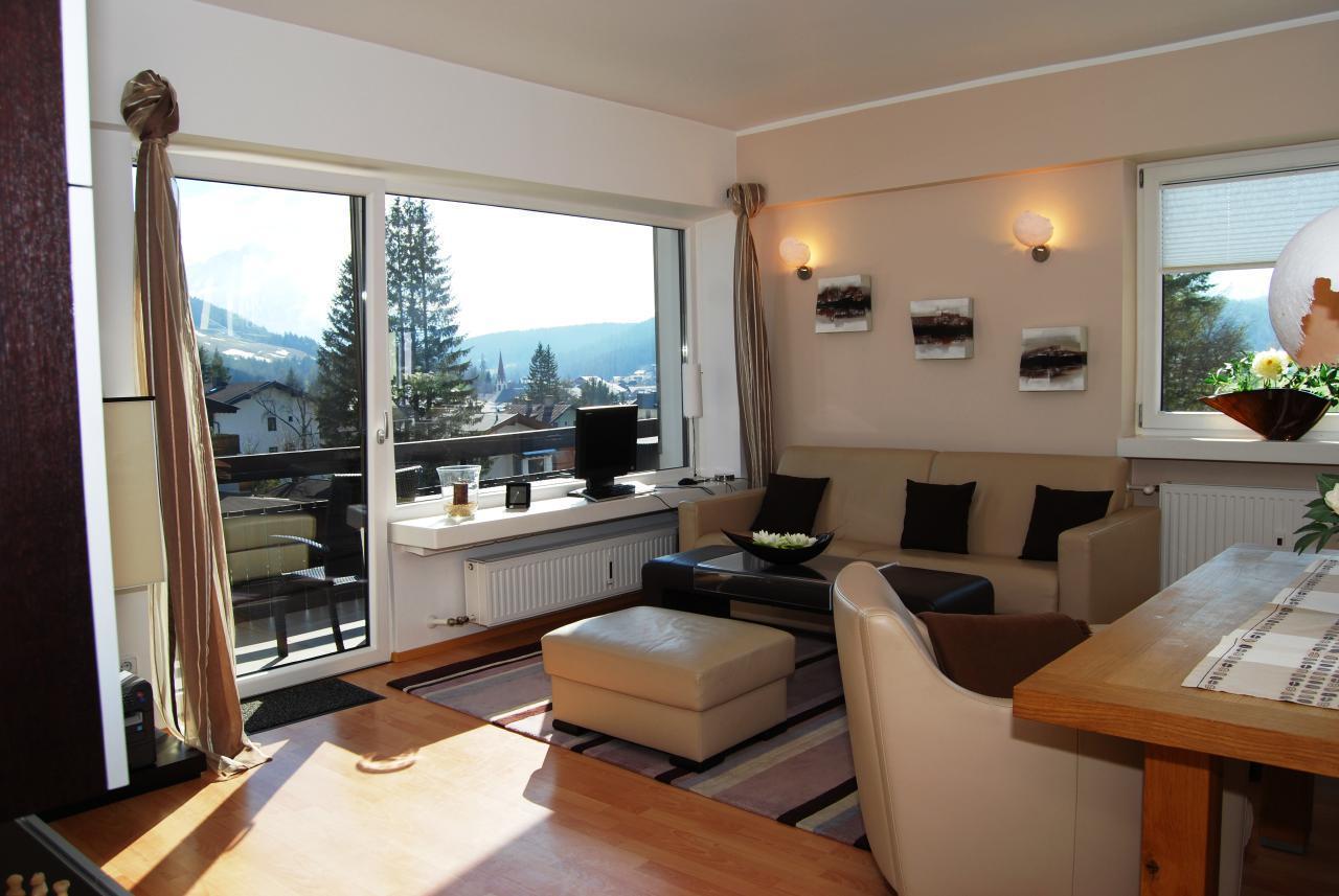 Appartement de vacances Luxusappartement  Alpenpanorama******  mit grandiosem Ausblick auf die Alpen (376041), Seefeld in Tirol, Seefeld, Tyrol, Autriche, image 4