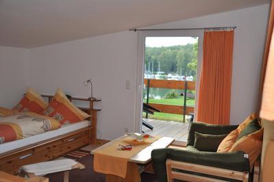 Ferienwohnung direkt am Werbellinsee (Balkon Seeseite) (387272), Joachimsthal, Uckermark - Barnim, Brandenburg, Deutschland, Bild 8