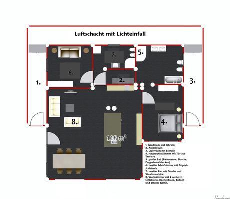 Ferienhaus Traumvilla Miralago - Ein Ferienhaus zum Wohlfülen, Entspannen, Loslassen... (387273), Malcesine, Gardasee, Venetien, Italien, Bild 24