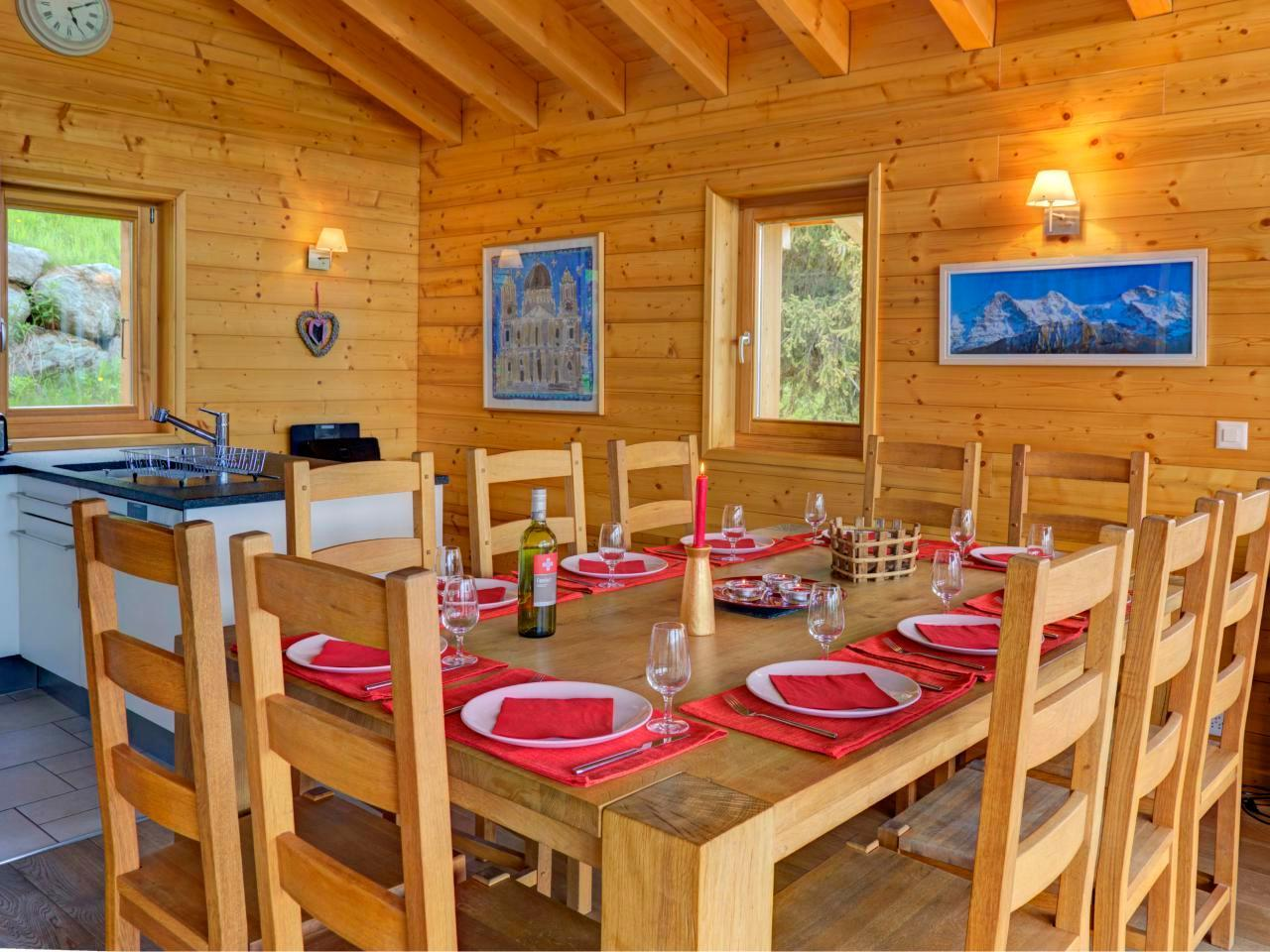 Holiday house Chalet Bryher (430525), Les Collons, 4 Vallées, Valais, Switzerland, picture 10