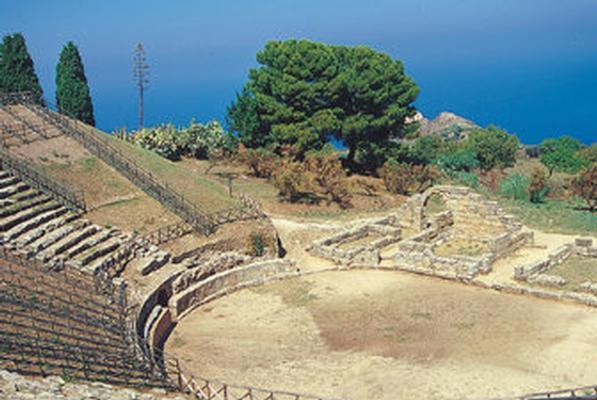 Ferienwohnung Haus Tonnara, Meer von Sizilien, in einem schönen Park, Schwimmbad, mit Blick auf die Lipa (443896), Oliveri, Messina, Sizilien, Italien, Bild 18