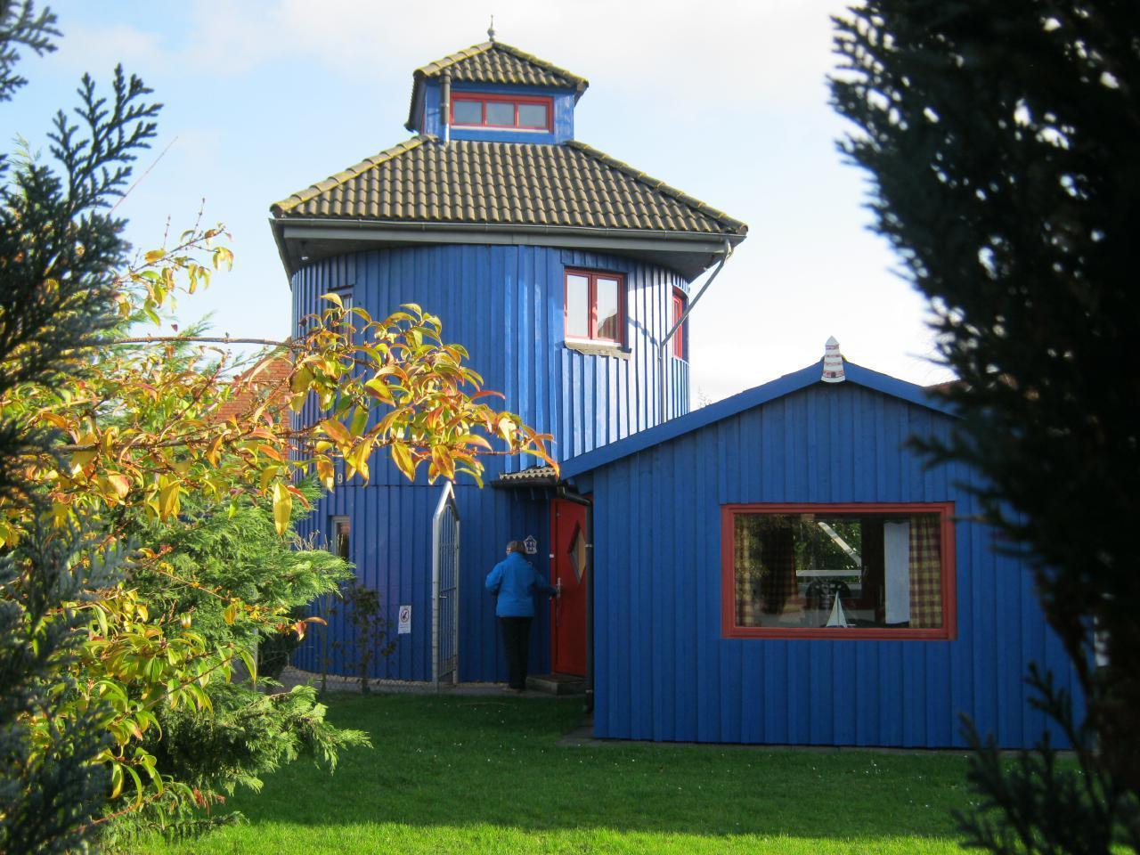 Eingang am Ferienhaus Leuchtturm