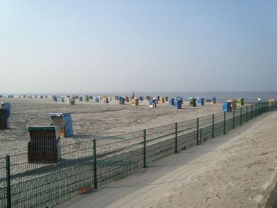 Strand in Neßmersiel