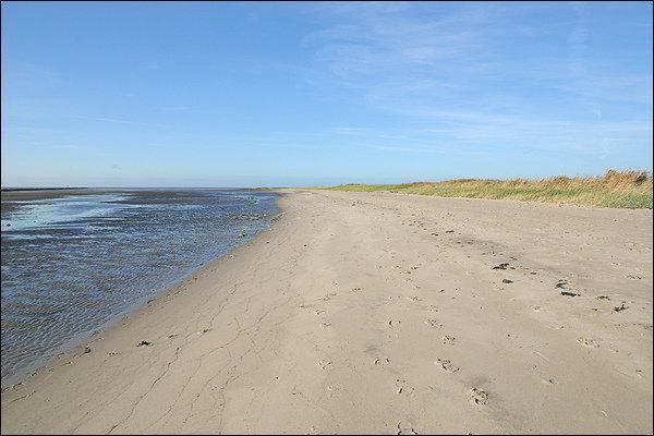 Kleiner Sandstrand
