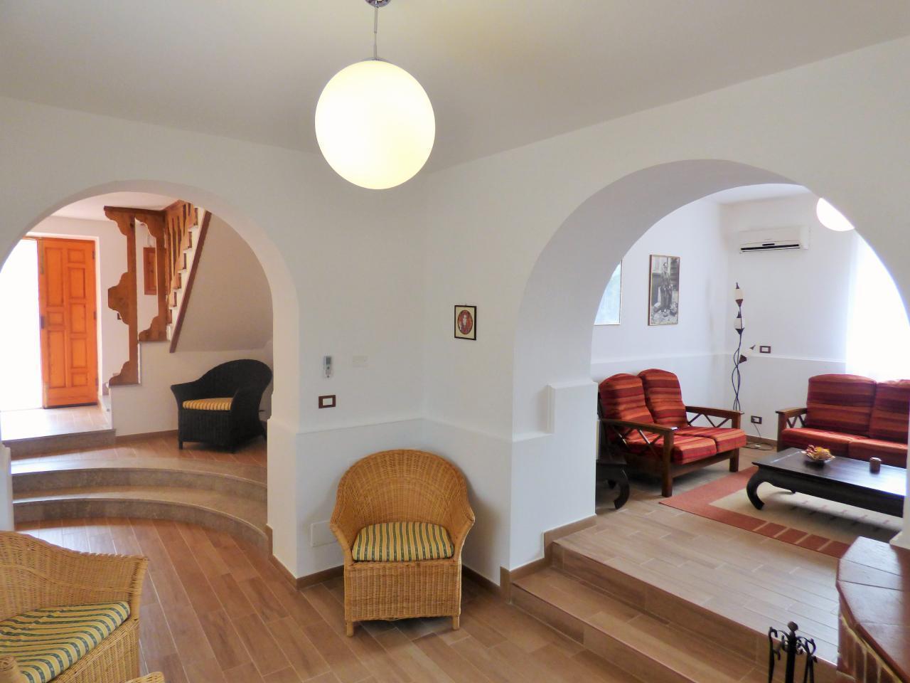 Ferienhaus Villa Maria ein schönes Landhaus in einer ruhigen und sonnige lage mit Blick auf den Eolie (482652), Patti, Messina, Sizilien, Italien, Bild 11