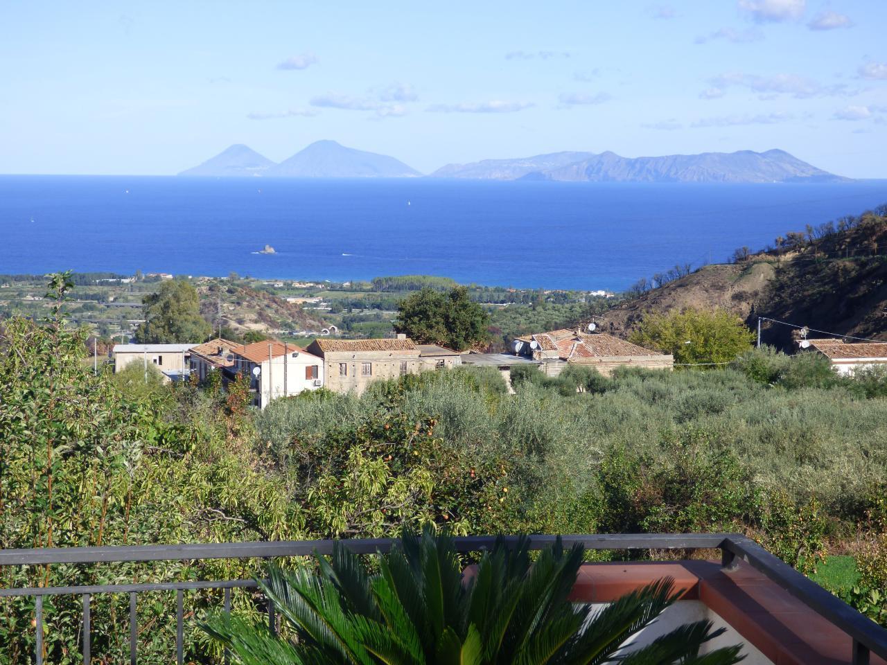 Ferienhaus Villa Maria ein schönes Landhaus in einer ruhigen und sonnige lage mit Blick auf den Eolie (482652), Patti, Messina, Sizilien, Italien, Bild 10