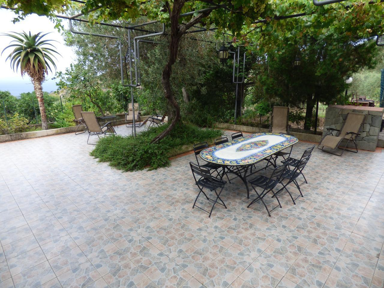 Ferienhaus Villa Maria ein schönes Landhaus in einer ruhigen und sonnige lage mit Blick auf den Eolie (482652), Patti, Messina, Sizilien, Italien, Bild 6