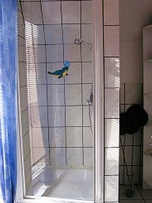 Oben, Badezimmer
