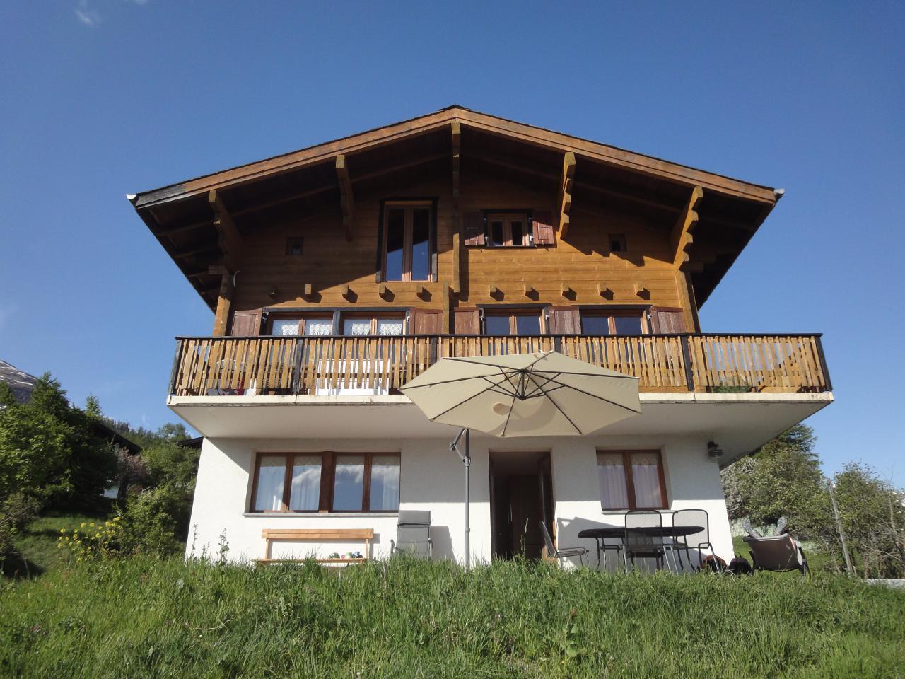 Appartement de vacances Chalet Stefanino, 3 1/2 Zimmer (487097), Bellwald, Aletsch - Conches, Valais, Suisse, image 1