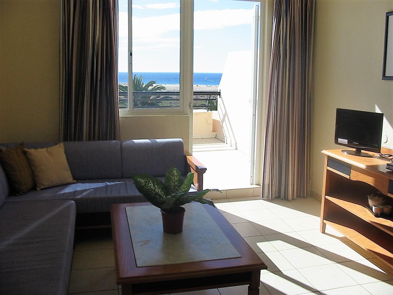 Ferienwohnung Apartment 2 / 4p am Strand und mit allen Dienstleistungen, mit Meerblick, Swimmingpools, a (487787), Morro Jable, Fuerteventura, Kanarische Inseln, Spanien, Bild 6
