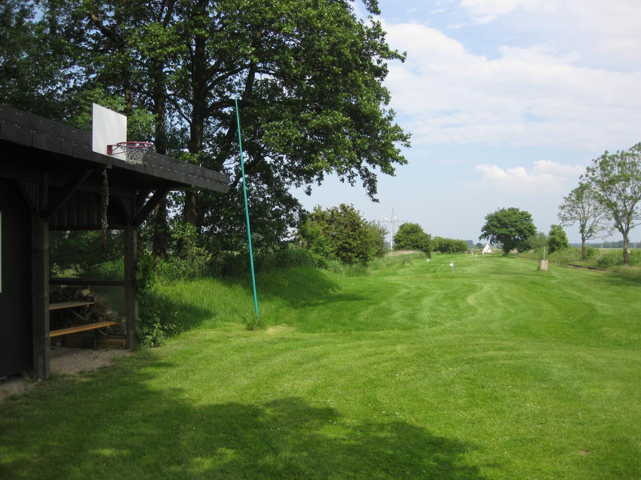 Die Golfpiste ist in einem Top Zustand