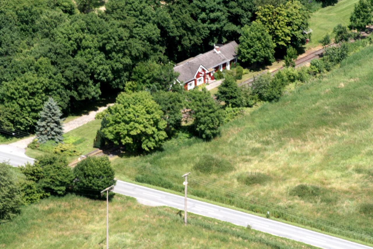 Luftaufnahme/Ferienhaus