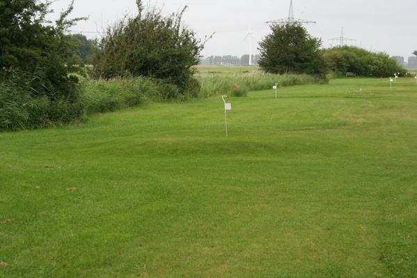 Golfübungspiste