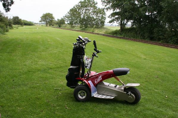 Golftrike für Lauffaule