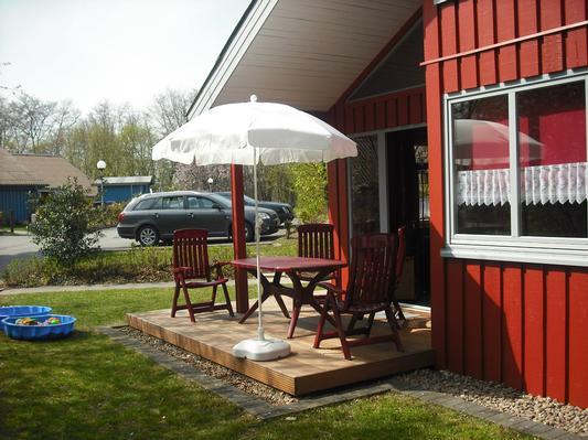 Ferienhaus Das rote Wohlfühlhaus Fuchs mit Sauna u. Kaminofen, private Vermietung. (561328), Extertal, Teutoburger Wald, Nordrhein-Westfalen, Deutschland, Bild 1