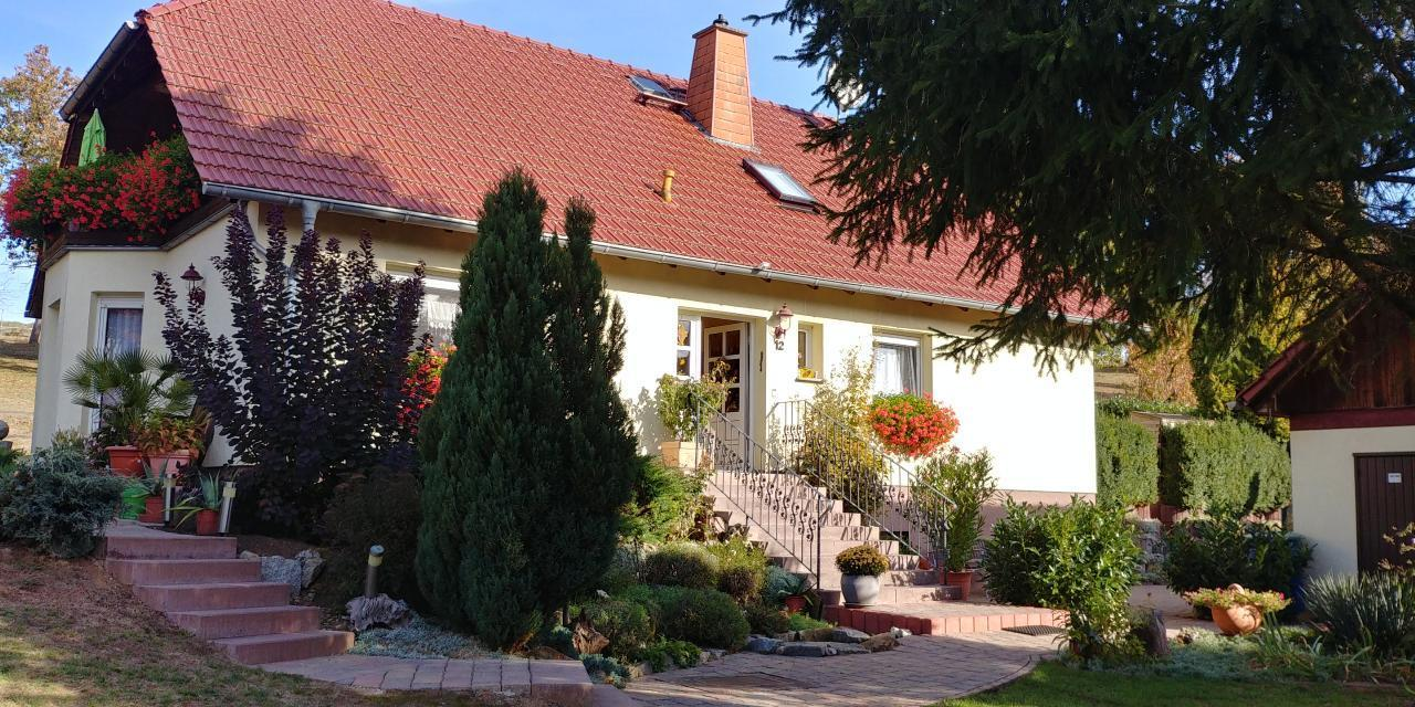 Holiday apartment Haus Hainichblick (57227), Bischofroda, North-Thuringian Highland, Thuringia, Germany, picture 1