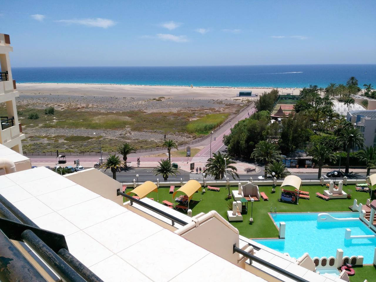 Ferienwohnung Apartment 2 / 4er Direkt am Meer, mit Blick auf den Strand, Schwimmbäder, ausgestattet. WI (634890), Morro Jable, Fuerteventura, Kanarische Inseln, Spanien, Bild 1