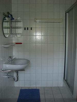 Duschbad mit WC im Erdgeschoß