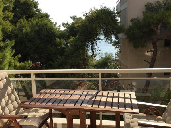 Holiday apartment Varkiza, Athen - Meerblick / 100m vom Meer (639744), Varkiza, , Attica, Greece, picture 1