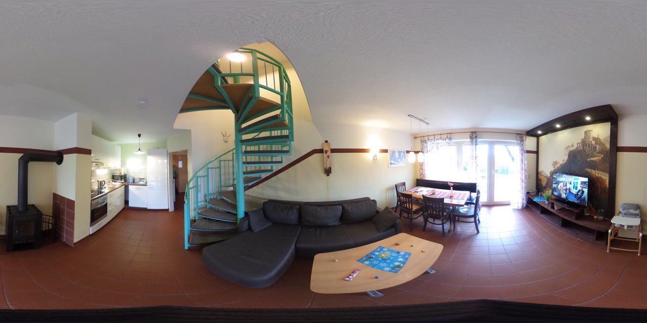 Ferienhaus Ferienhäuser Schlossberg mit zwei sep. Schlafräumen, kostenlosem w-lan und neuer Hausausst (641782), Zandt, Bayerischer Wald, Bayern, Deutschland, Bild 1
