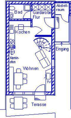 Ferienhaus Ferienhäuser Schlossberg mit zwei sep. Schlafräumen, kostenlosem w-lan und neuer Hausausst (641782), Zandt, Bayerischer Wald, Bayern, Deutschland, Bild 18