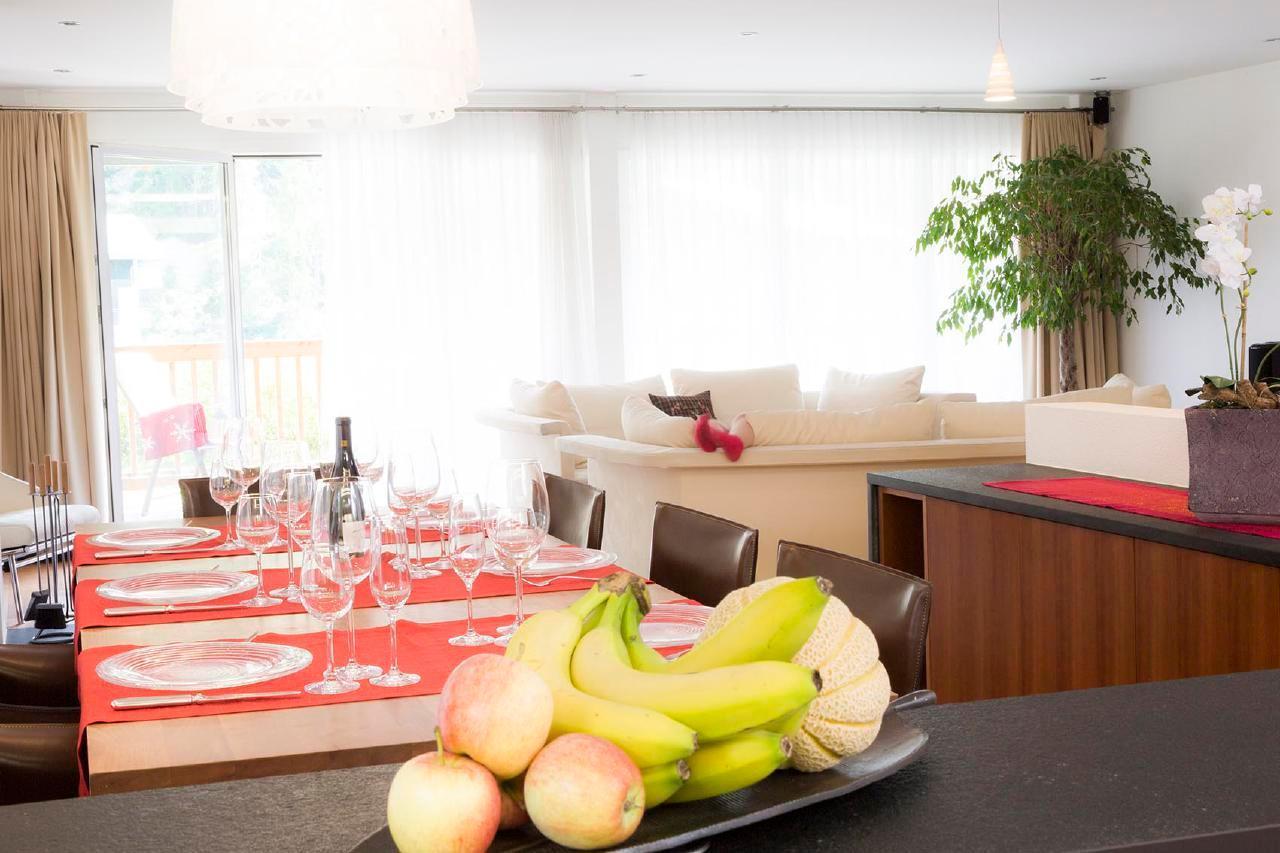 Holiday apartment Haus Amber 5 Zimmer Duplex Attika Wohnung ***** (646351), Zermatt, Zermatt, Valais, Switzerland, picture 4