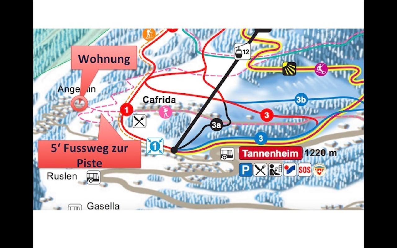 Appartement de vacances 3,5 Zimmer Wohnung Flumserberg (648121), Flumserberg Tannenheim, Pays d'Heidi, Suisse Orientale, Suisse, image 10
