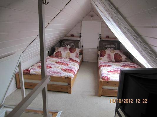 OG- Schlafzimmer 2 im Giebelgechoss