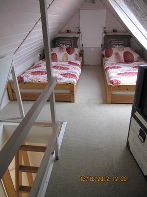 OG- Schlafzimmer 2 im Giebelgeschoss