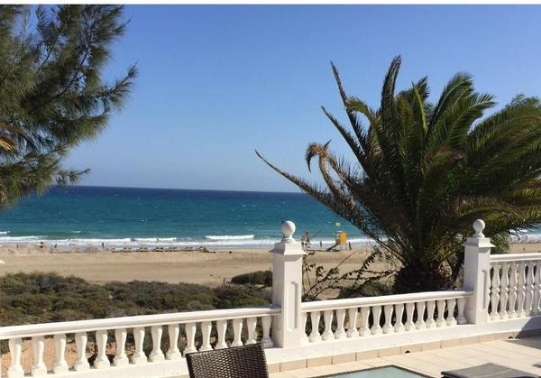 Traumhaus am strand  TRAUMHAUS direkt am Strand 1/Costa Calma,