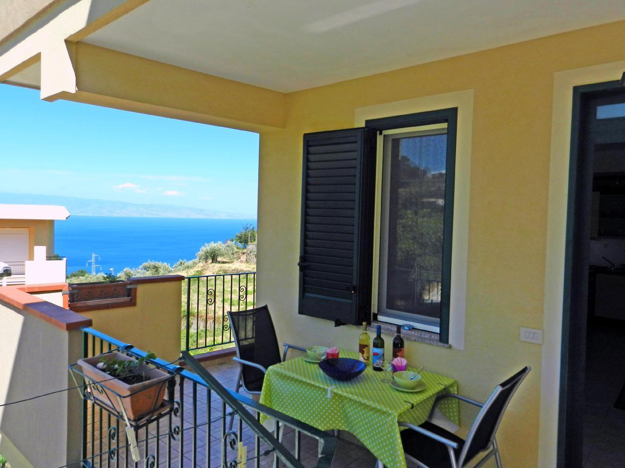 Appartement de vacances Fewo mit Balkon im Panorama-Dorf bei Taormina (737398), Forza d'Agro', Messina, Sicile, Italie, image 9