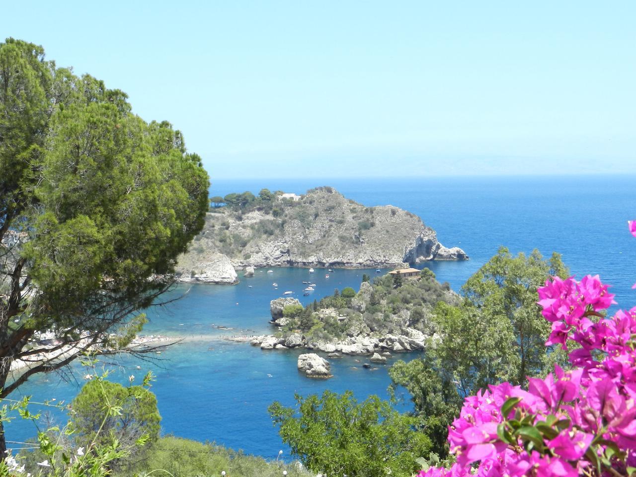Appartement de vacances Fewo mit Balkon im Panorama-Dorf bei Taormina (737398), Forza d'Agro', Messina, Sicile, Italie, image 14